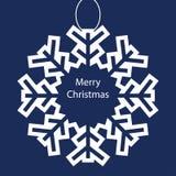Fundo do cartão de Natal Fotografia de Stock Royalty Free
