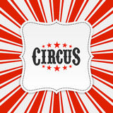 Fundo do cartaz do circo ilustração stock