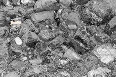 Fundo do carvão preto Imagens de Stock