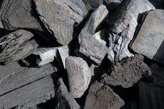 Fundo do carvão vegetal Foto de Stock Royalty Free