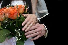 Fundo do casamento Fotografia de Stock Royalty Free