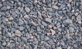 Fundo do cascalho - textura de pedra Imagem de Stock Royalty Free