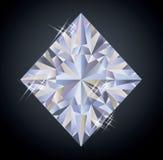 Fundo do casino com elemento do pôquer dos diamantes, Imagem de Stock Royalty Free