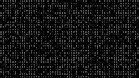 Fundo do código binário filme