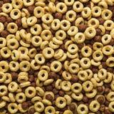 Fundo do cereal de pequeno almoço Imagens de Stock