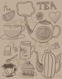 Fundo do chá Foto de Stock Royalty Free