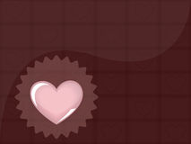 Fundo do chocolate Imagem de Stock