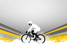 Fundo do ciclismo Fotografia de Stock