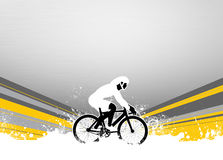 Fundo do ciclismo Foto de Stock