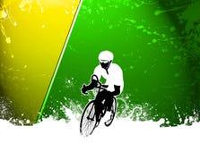 Fundo do ciclismo Fotos de Stock