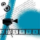Fundo do cinema Fotos de Stock Royalty Free