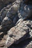 Fundo do cinza da rocha Imagem de Stock