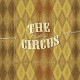 Fundo do circo Fotos de Stock