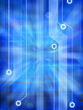 fundo do circuito de computador 3D Foto de Stock