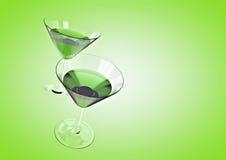 Fundo do cocktail Foto de Stock Royalty Free