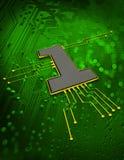 Fundo do conceito de Techno Fotografia de Stock Royalty Free
