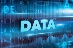 Fundo do conceito dos dados Foto de Stock Royalty Free
