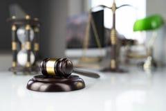 Fundo do conceito do escritório de advogado Lugar para o texto imagens de stock royalty free