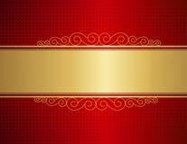 Fundo do convite do casamento Imagens de Stock Royalty Free
