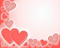 Fundo do coração Foto de Stock