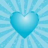 Fundo do coração Fotografia de Stock Royalty Free
