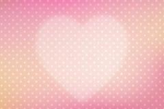 Fundo do coração Fotos de Stock Royalty Free