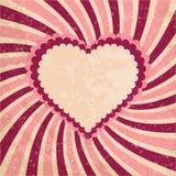 Fundo do coração do amor ilustração stock