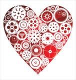 Fundo do coração do amor Imagens de Stock Royalty Free