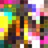 Fundo do coração do amor Imagem de Stock