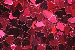 Fundo do coração do metal Imagem de Stock Royalty Free