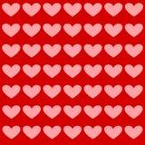 Fundo do coração, ilustração Imagens de Stock Royalty Free