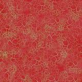 Fundo do crackle do Natal do vermelho rico Imagens de Stock