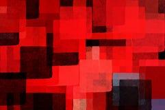 Fundo do Cubist Ilustração Stock
