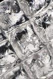 Fundo do cubo de gelo fotos de stock royalty free