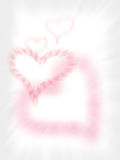Fundo do cumprimento do amor Ilustração Stock