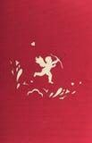 Fundo do Cupid fotos de stock royalty free