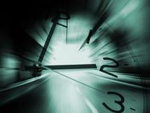 Fundo do curso do tempo imagem de stock