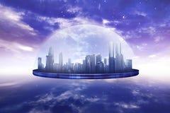 Fundo do Cyberspace ilustração royalty free