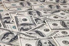 Fundo do dólar Fotografia de Stock