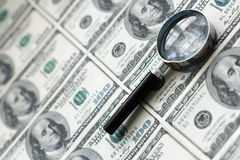 Fundo do dólar de Estados Unidos imagens de stock royalty free