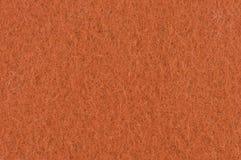 Textura de feltro da laranja Fotos de Stock Royalty Free