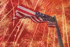 Fundo do Dia da Independência Imagens de Stock Royalty Free