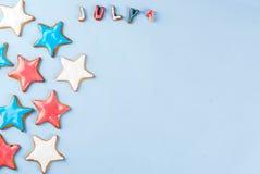 Fundo do Dia da Independência dos EUA Fotografia de Stock Royalty Free