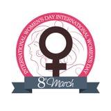 Fundo do dia das mulheres Imagem de Stock Royalty Free
