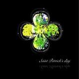 Fundo do dia de Patrick de Saint Ilustração do Vetor