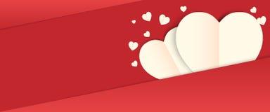 Fundo do dia de são valentim do amor ilustração royalty free