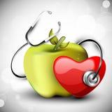 Dia de saúde de mundo, Fotografia de Stock Royalty Free