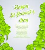 Fundo do dia de St.Patricks ilustração royalty free