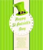 Fundo do dia de St.Patricks ilustração do vetor