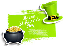 Fundo do dia de St.Patricks ilustração stock